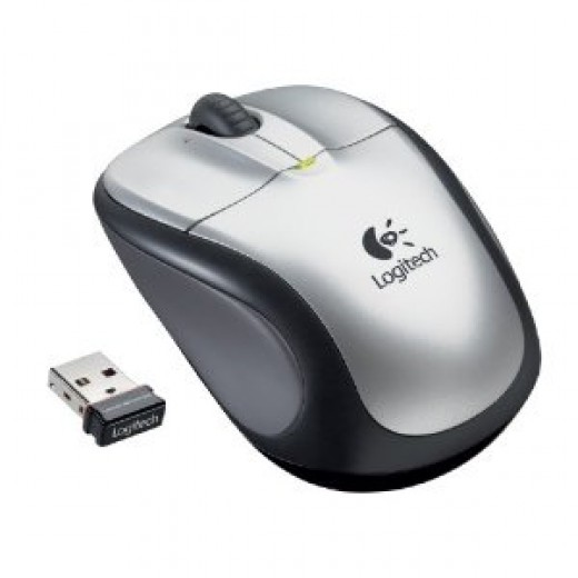 Logitech M305 Wireless Mouse (Silver)