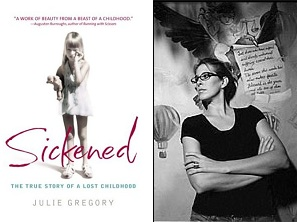 Left: Cover of Sickened Right: Author Julie Gregory