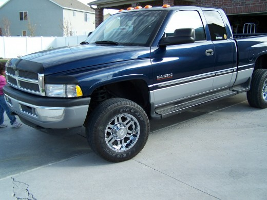 The truck we bought whole sale using the tips outlined in this article.