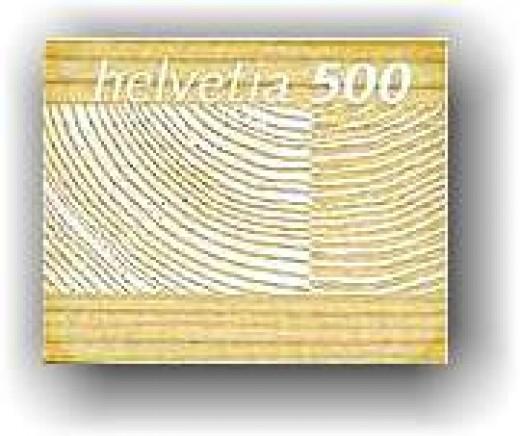Wooden stamp from Switzerland