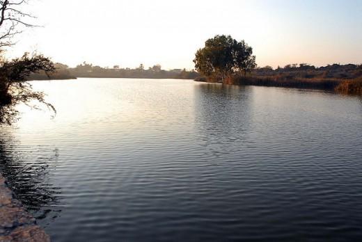 Misriot Dam lake
