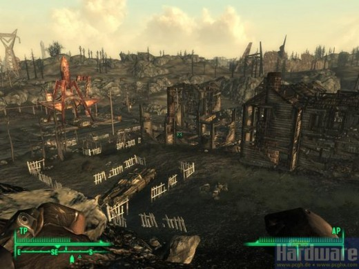 Fallout New Vegas Scenery