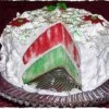 Christmas Jello Cake | Perfect Holiday Dessert