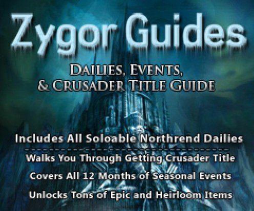 Zygor Guide for Dailies and Events