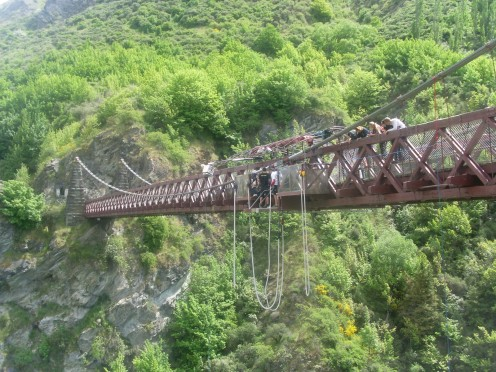 AJ Hackett Kawarau Bridge Bungy, Queenstown, New Zealand