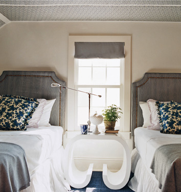 Simple doesn't have to be boring!  These headboards are simply beautiful.
