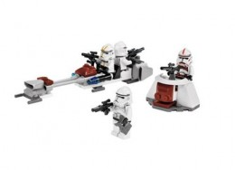 LEGO Star Wars 7655 Clone Troopers Battle Pack - Set contents