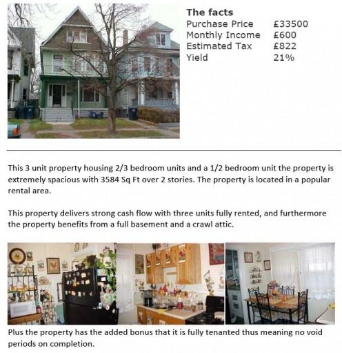 I lost approx $50,000 on this property on Niagara Street, Buffalo, USA