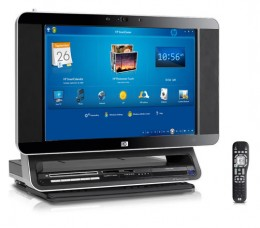 The HP TouchSmart IQ770 All in One Computer