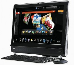 HP TouchSmart 600 all-in-one Touchscreen Computer