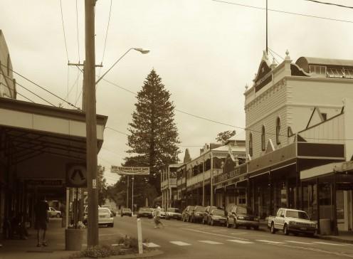 Bellingen Main street