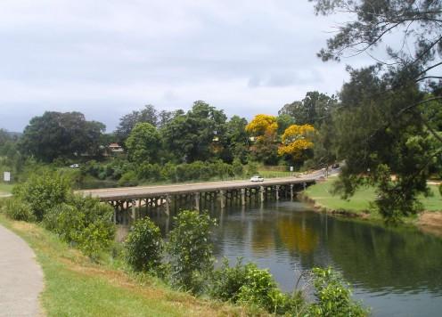Bridge on the Bellingen River