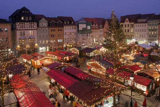 Traditional Christmas Market of Jena, Thuringia