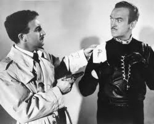 Petter Sellers and David Niven in The Pink Panther