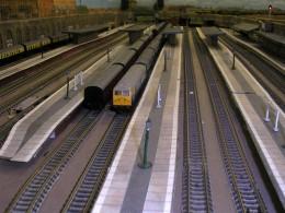 N scale train