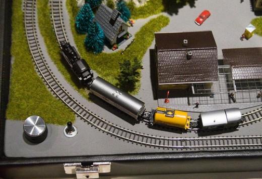 Z scale train