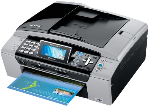 Brother MFC-490CW Inkjet All-in-One Wireless Printer