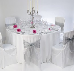 Floor Length Round Table Cloth