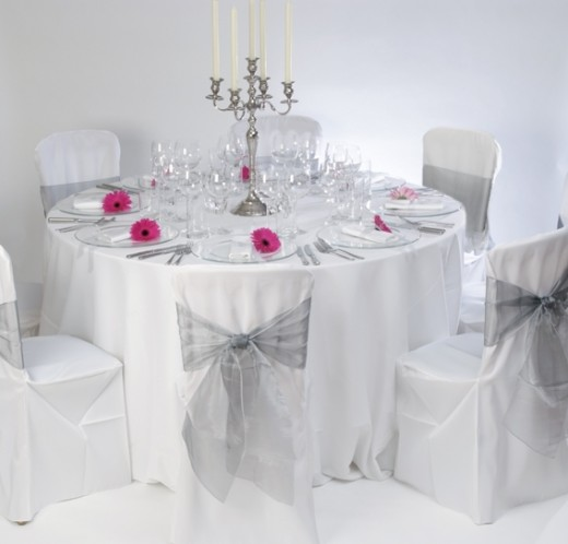 Floor Length Round Table Cloth