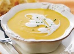 Creamy Citrus Squash Soup
