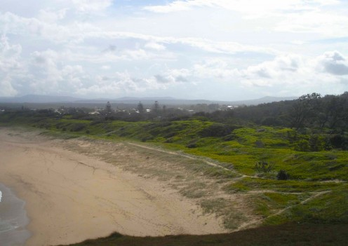 From the Headland - looking south west over the village and campground