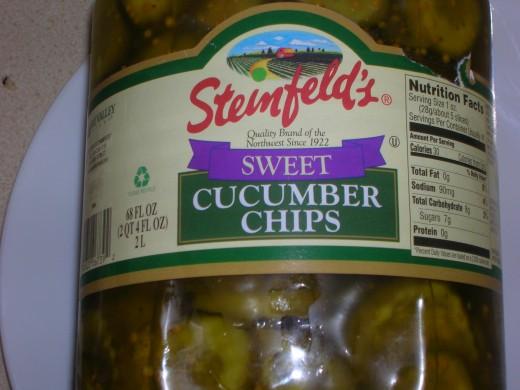 Tasty Pickles for Sandwich