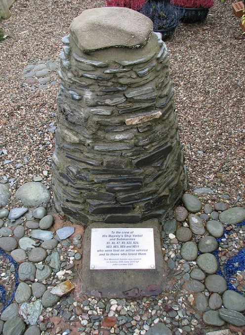 The X crew's memorial