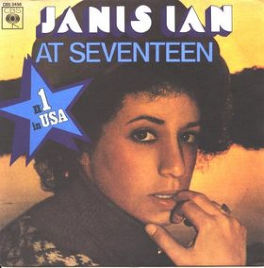 """At Seventeen"" single cover"