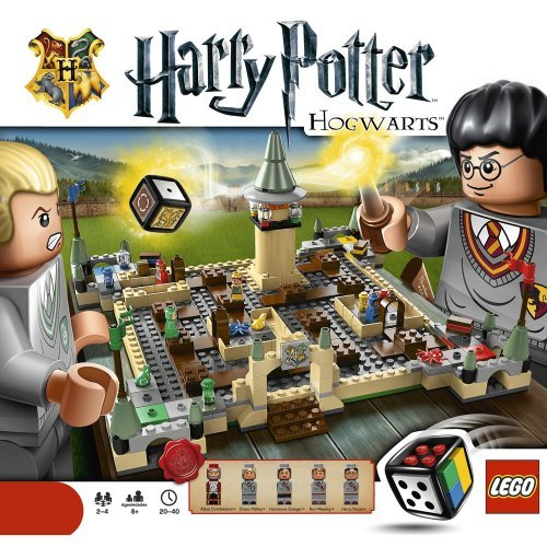 LEGO Harry Potter Hogwarts Board Game 3862 - Box
