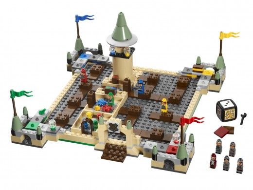 LEGO Harry Potter Hogwarts Board Game 3862 - The Board
