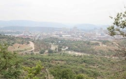 Pretoria seen from the fort