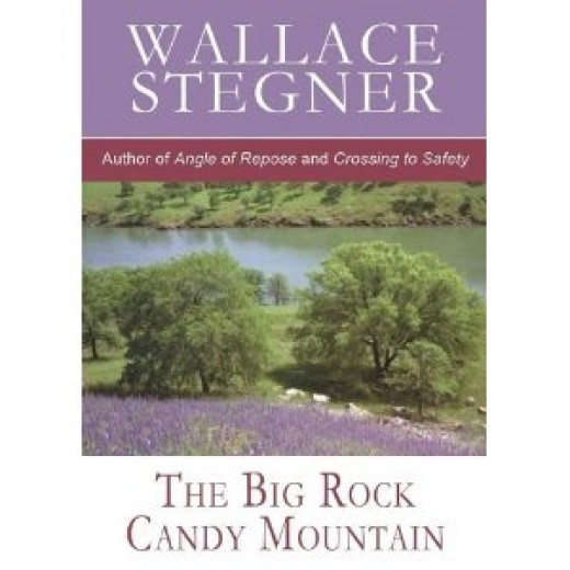Big Rock Candy Mountain by Wallace Stegner book cover