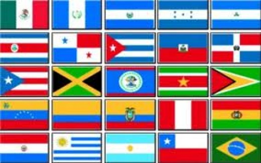 The Latin Flags.