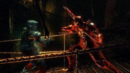 "One of the most innovative features of Demon's Souls is that you can play both cooperatively and competitively against computer players at the same time.  I found this ""world invading"" element to be intriguing and ultimately rewarding."