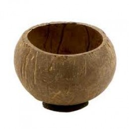 Coconut Shell Used for Tableware and candles.