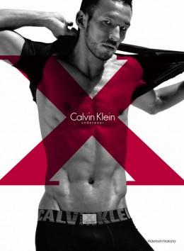 Hidetoshi Nakata - Calvin Klein X Underwear Collection