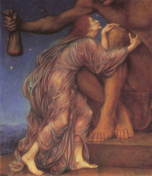 """The Worship of Mammon"" by Evelyn de Morgan (18551919)"