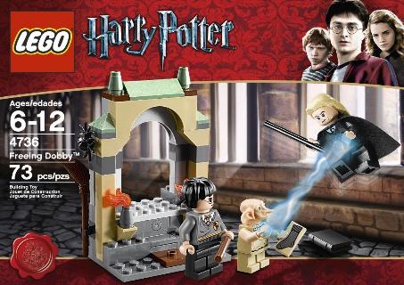 Lego Harry Potter Freeing Dobby