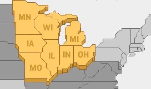 Midwestern USA