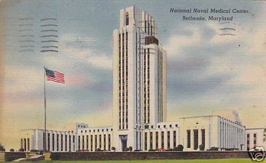 "The ""Tower"" of the National Naval Medical Center"