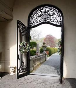 Doorway to Belcourt Castle