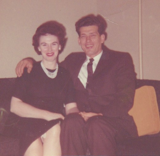 My parents 46 years ago.
