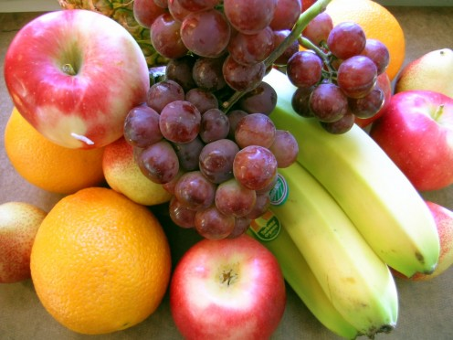 Eat plenty of healthy fruits and vegetables.