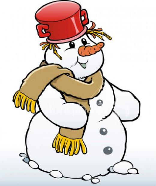 Kids love building a snowman, so make it fun and creative!