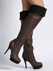 Another boot that rocks is this one by Colin Stuart at Victoria Secret