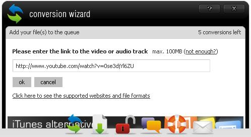 Enter YouTube Video URL for download