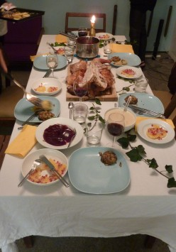 Thanksgiving Dinner-The Perfect Time To Start New Family Traditions