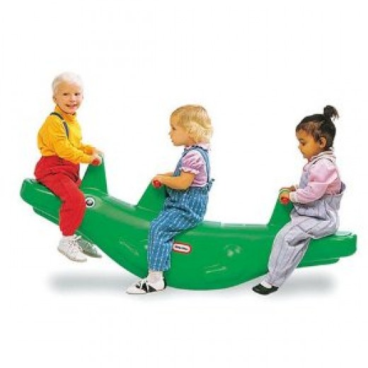 Alligator Teeter-Totter from Little Tikes