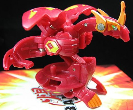 Red Pyrus Blitz Dragonoid 890G