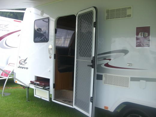This is the Jayco Caravan we want !
